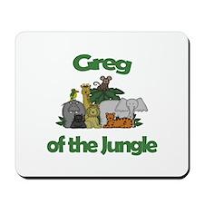 Greg of the Jungle Mousepad