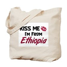 Kiss Me I'm from Ethiopia Tote Bag