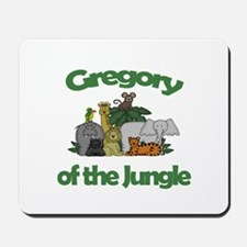 Gregory of the Jungle Mousepad