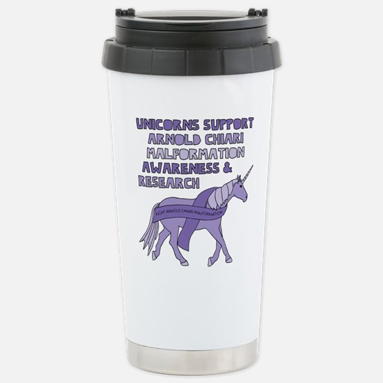 Unicorns Support Arnold Stainless Steel Travel Mug