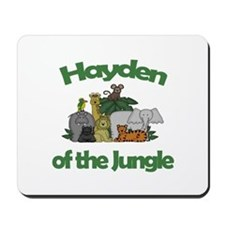 Hayden of the Jungle Mousepad