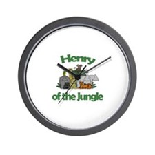 Henry of the Jungle  Wall Clock