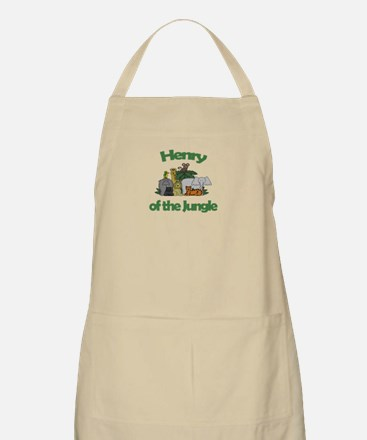 Henry of the Jungle  BBQ Apron