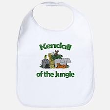 Kendall of the Jungle Bib