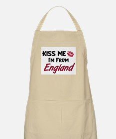 Kiss Me I'm from England BBQ Apron