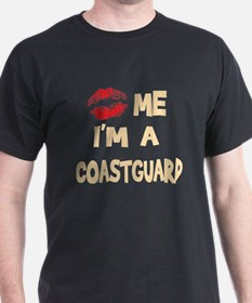 Kiss Me I'm A Coastguard T-Shirt