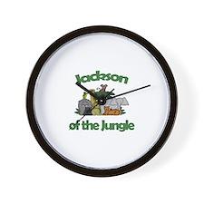 Jackson of the Jungle  Wall Clock