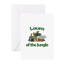 Laura of the Jungle Greeting Cards (Pk of 10)