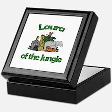 Laura of the Jungle Keepsake Box