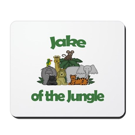 Jake of the Jungle Mousepad