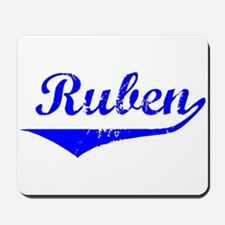 Ruben Vintage (Blue) Mousepad