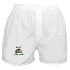 Leah of the Jungle Boxer Shorts