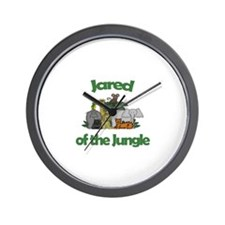 Jared of the Jungle  Wall Clock