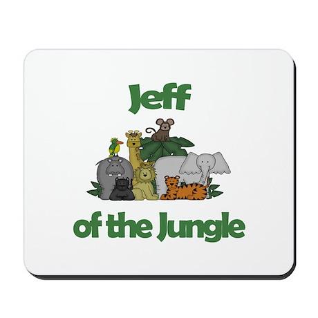 Jeff of the Jungle Mousepad