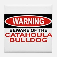 CATAHOULA BULLDOG Tile Coaster