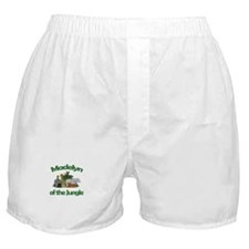 Madelyn of the Jungle Boxer Shorts