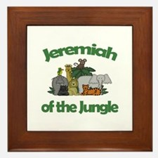 Jeremiah of the Jungle  Framed Tile