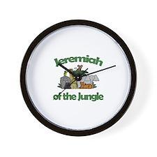 Jeremiah of the Jungle  Wall Clock
