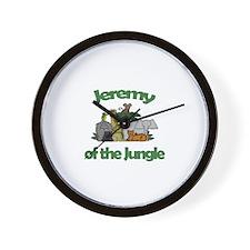 Jeremy of the Jungle  Wall Clock
