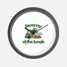 Jeremy of the Jungle  Wall Clock