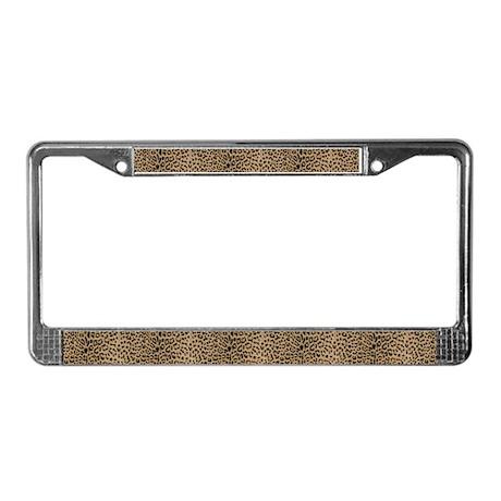 Leopard Love! License Plate Frame