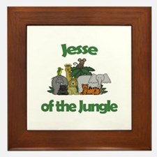 Jesse of the Jungle  Framed Tile