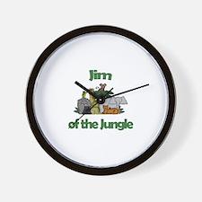 Jim of the Jungle  Wall Clock