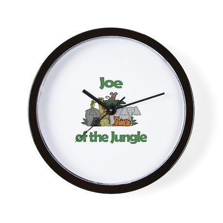 Joe of the Jungle Wall Clock