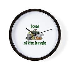 Joel of the Jungle  Wall Clock