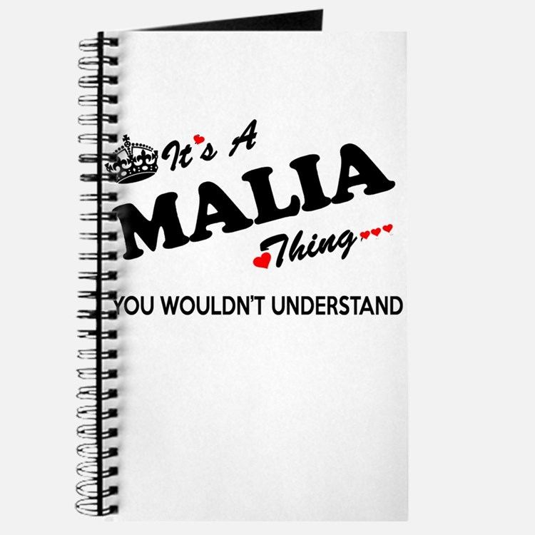 MALIA thing, you wouldn't understand Journal