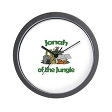 Jonah of the Jungle  Wall Clock