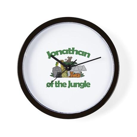 Jonathan of the Jungle Wall Clock