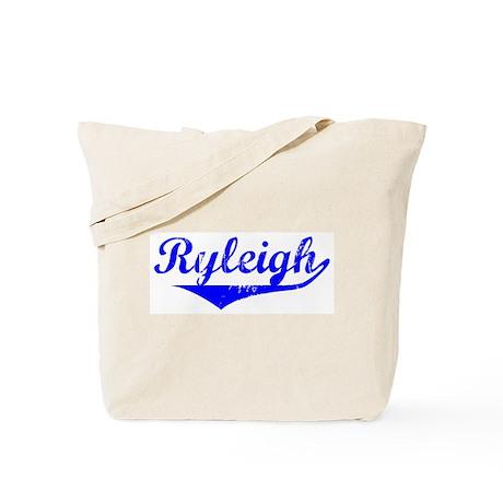 Ryleigh Vintage (Blue) Tote Bag