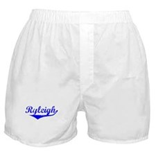 Ryleigh Vintage (Blue) Boxer Shorts