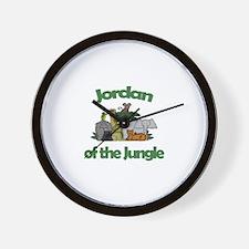 Jordan of the Jungle  Wall Clock