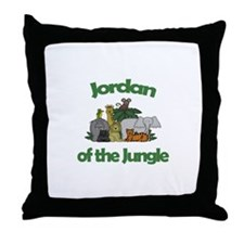 Jordan of the Jungle  Throw Pillow