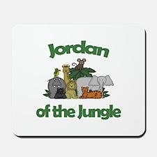 Jordan of the Jungle Mousepad