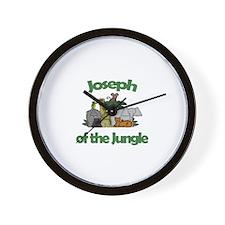 Joseph of the Jungle  Wall Clock