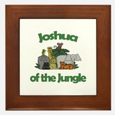Joshua of the Jungle  Framed Tile