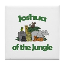 Joshua of the Jungle Tile Coaster