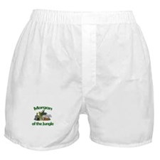 Morgan of the Jungle Boxer Shorts