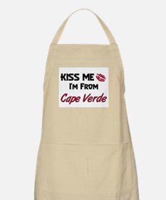 Kiss Me I'm from Cape Verde BBQ Apron