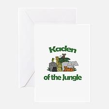 Kaden of the Jungle Greeting Card