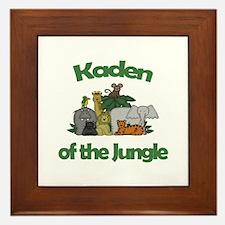 Kaden of the Jungle  Framed Tile