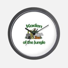 Kaden of the Jungle  Wall Clock