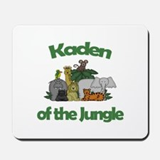 Kaden of the Jungle Mousepad