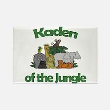Kaden of the Jungle Rectangle Magnet
