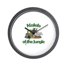 Kaleb of the Jungle  Wall Clock