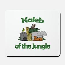 Kaleb of the Jungle Mousepad