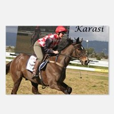 Funny Jumps racing Postcards (Package of 8)